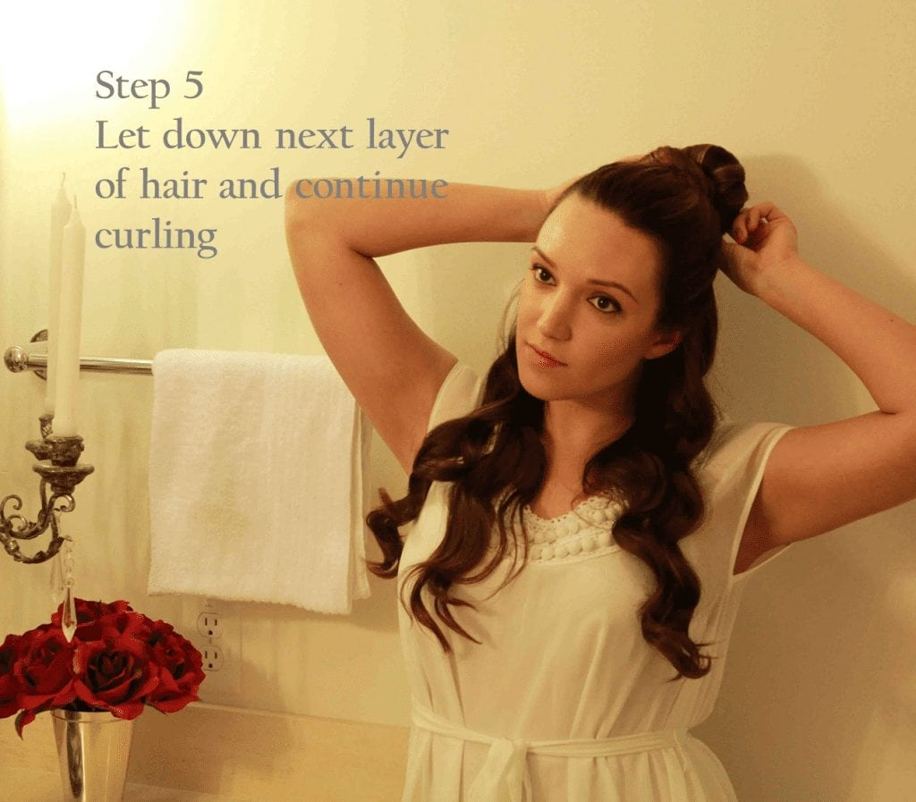 Bombshell Curls Hair Tutorial featured by top San Francisco beauty blog, Just Add Glam