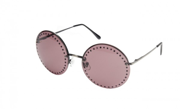 The Target Neiman Marcus Holiday Collection Favorites featured by top San Francisco life and style blog, Just Add Glam: image of round sunglasses