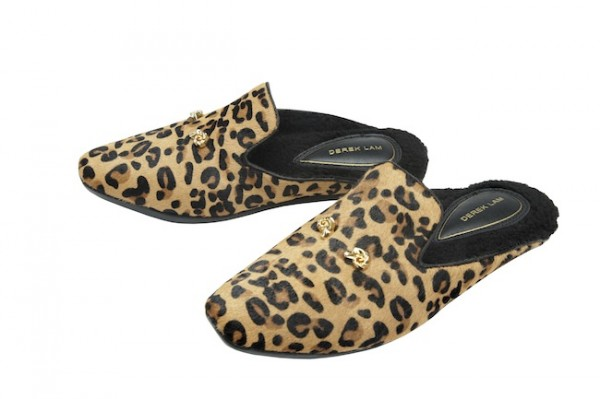 The Target Neiman Marcus Holiday Collection Favorites featured by top San Francisco life and style blog, Just Add Glam: image of leopard slippers
