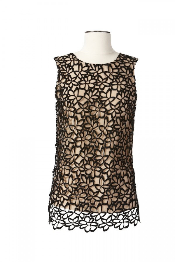 The Target Neiman Marcus Holiday Collection Favorites featured by top San Francisco life and style blog, Just Add Glam: image of lace top