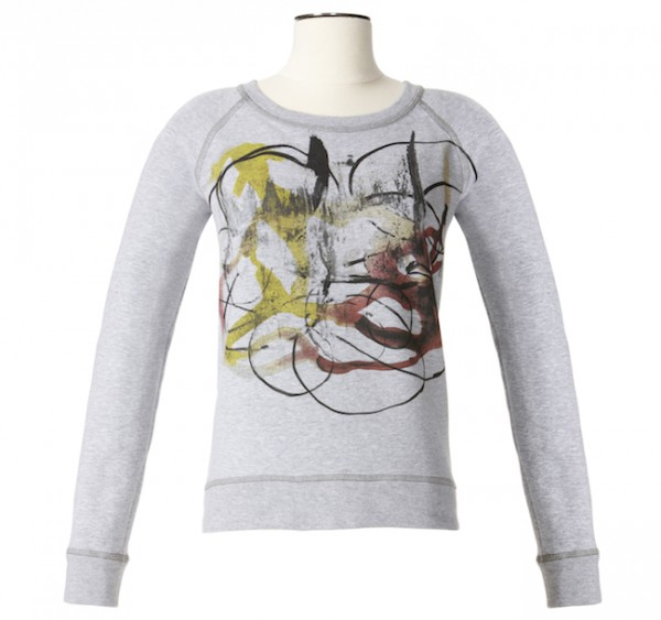 The Target Neiman Marcus Holiday Collection Favorites featured by top San Francisco life and style blog, Just Add Glam: image of a graphic sweatshirt