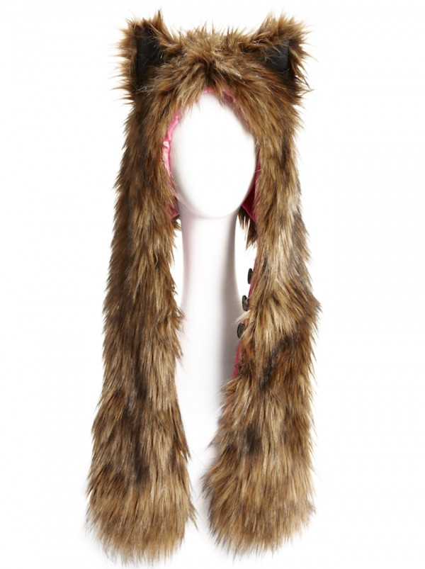 The Target Neiman Marcus Holiday Collection Favorites featured by top San Francisco life and style blog, Just Add Glam: image of a Kid's furry hat