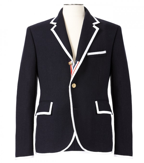 The Target Neiman Marcus Holiday Collection Favorites featured by top San Francisco life and style blog, Just Add Glam: image of a men's blazer