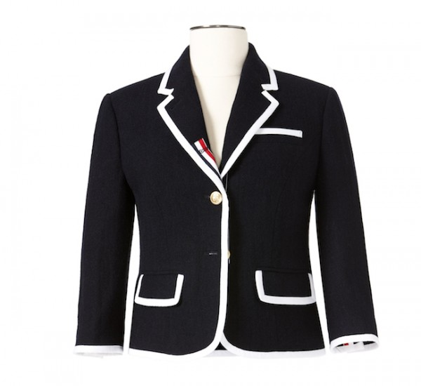 The Target Neiman Marcus Holiday Collection Favorites featured by top San Francisco life and style blog, Just Add Glam: image of a women's blazer