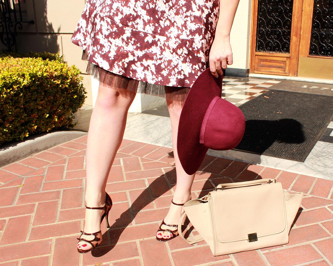 celine trapeze bag, dolce & gabbana heels, dolce & gabbana sandals