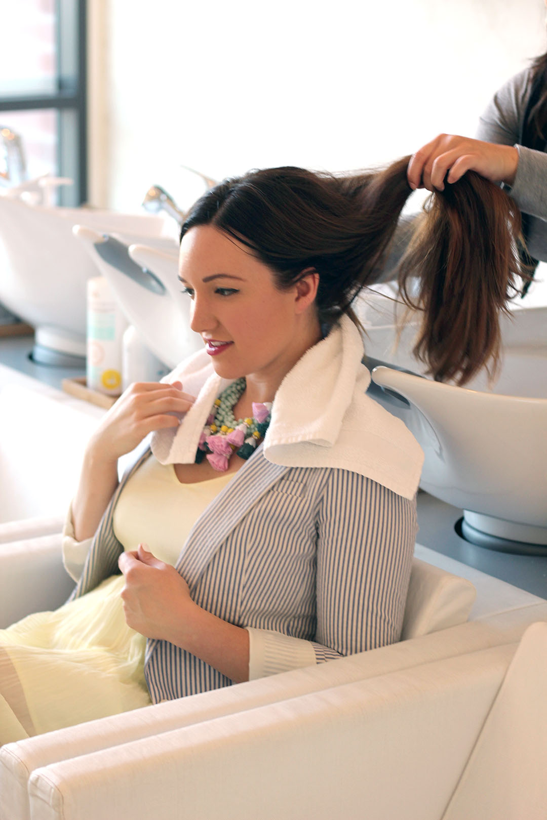 Cosmo Tai Drybar featured by top San Francisco beauty blog, Just Add Glam