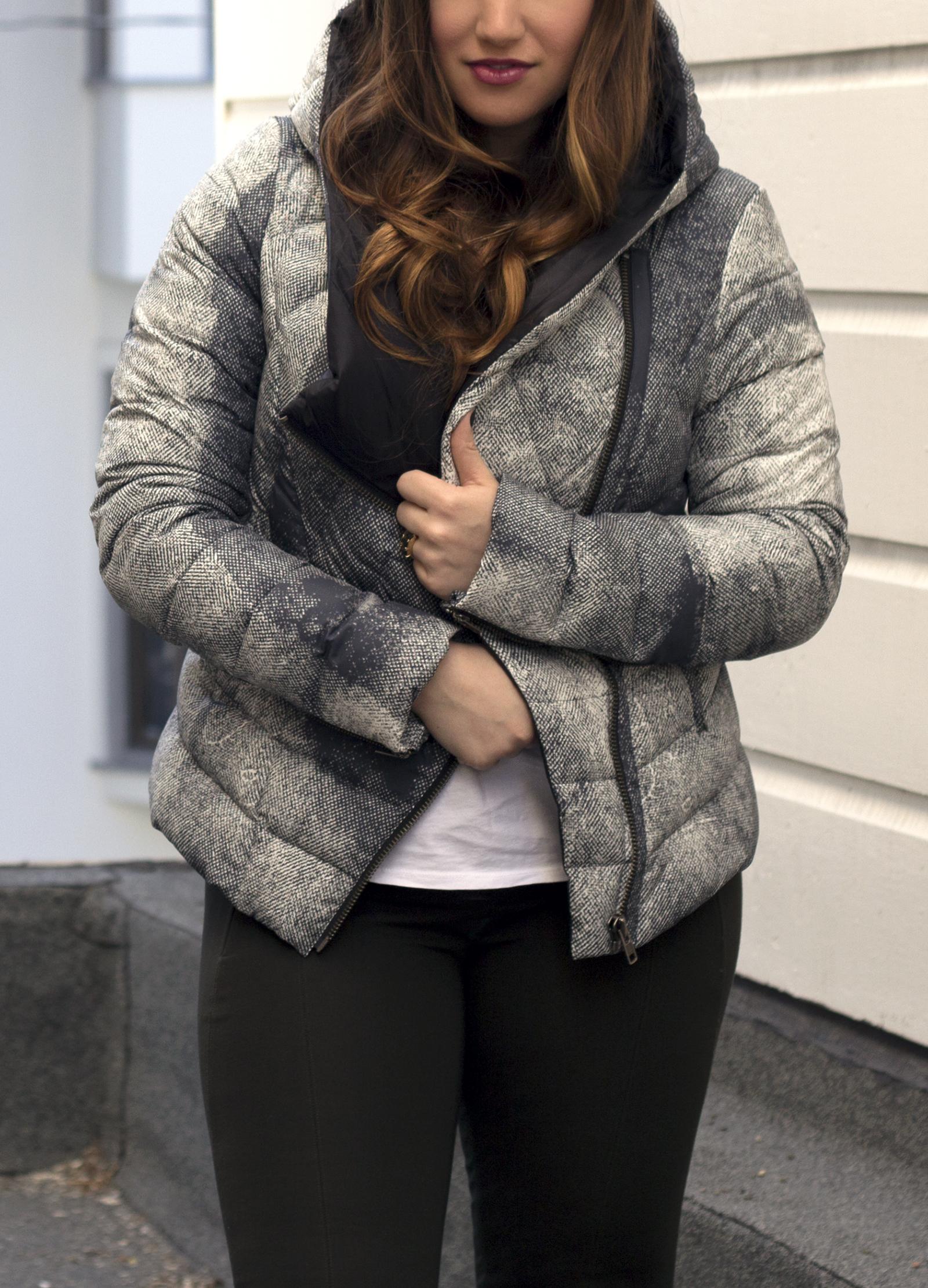 helmut lang puffer jacket