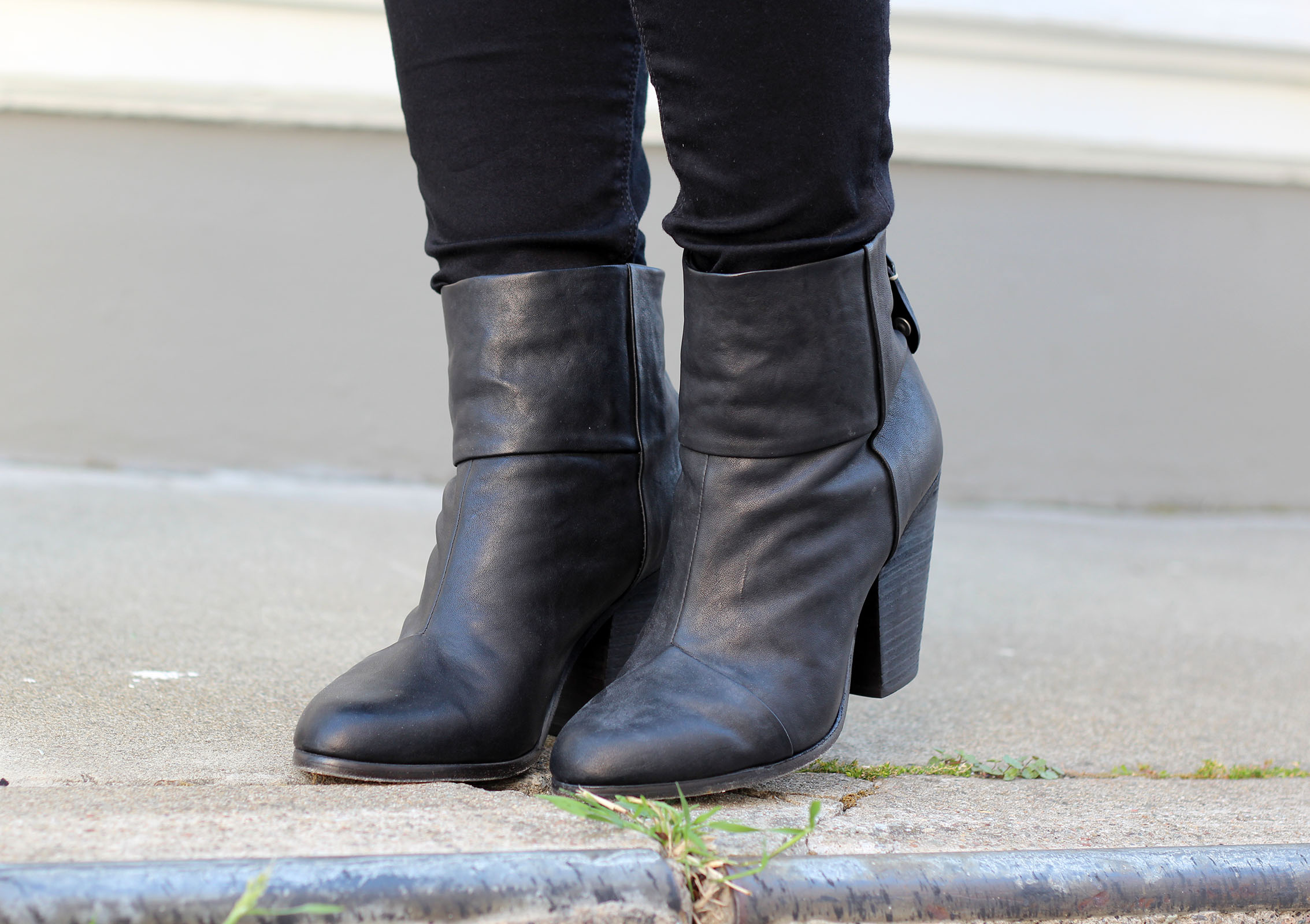 Newbury rag & bone booties  featured by top San Francisco fashion blog, Just Add Glam