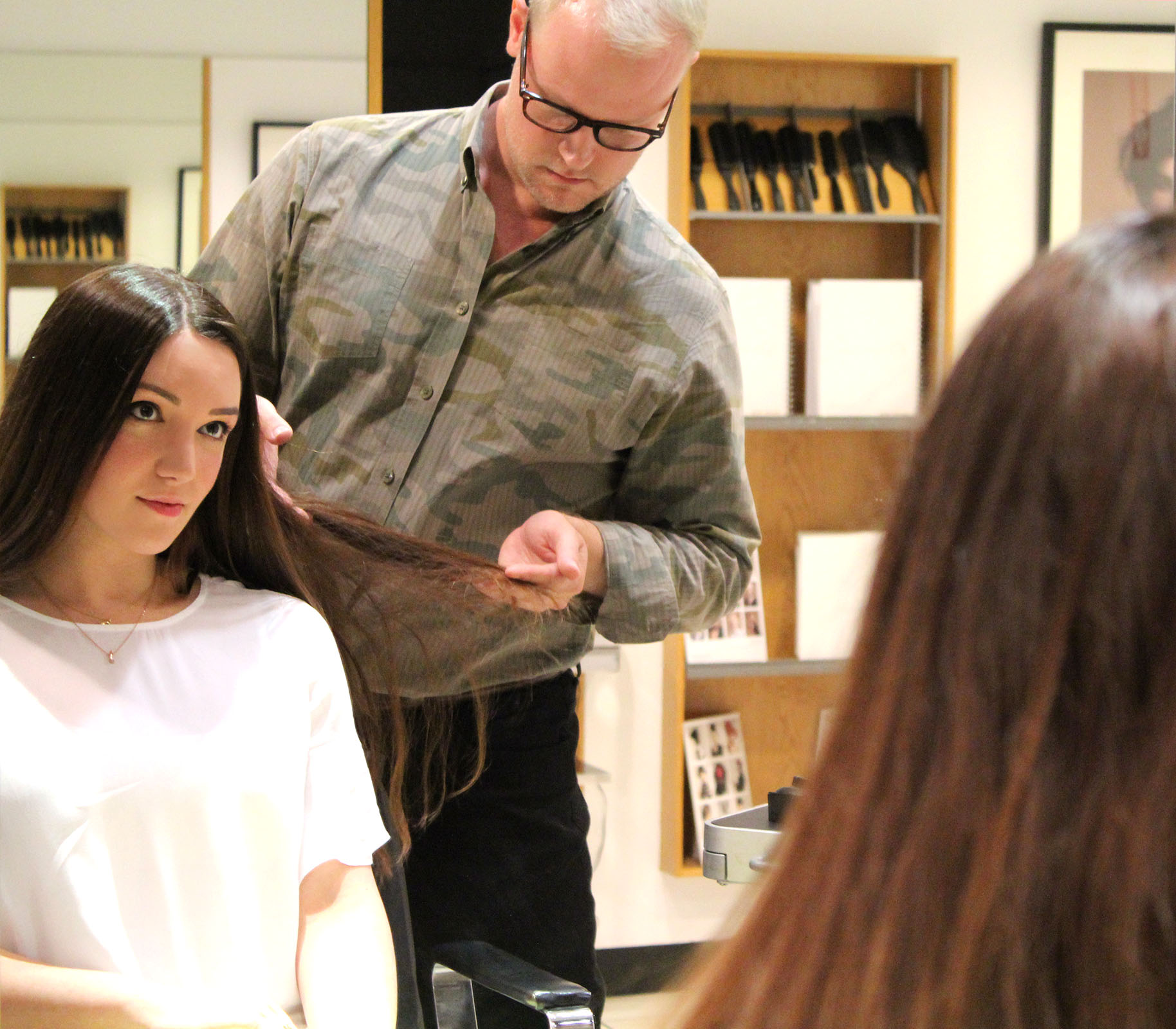 debunking hair myths with Sassoon Salon featured by popular San Francisco beauty blogger, Just Add Glam