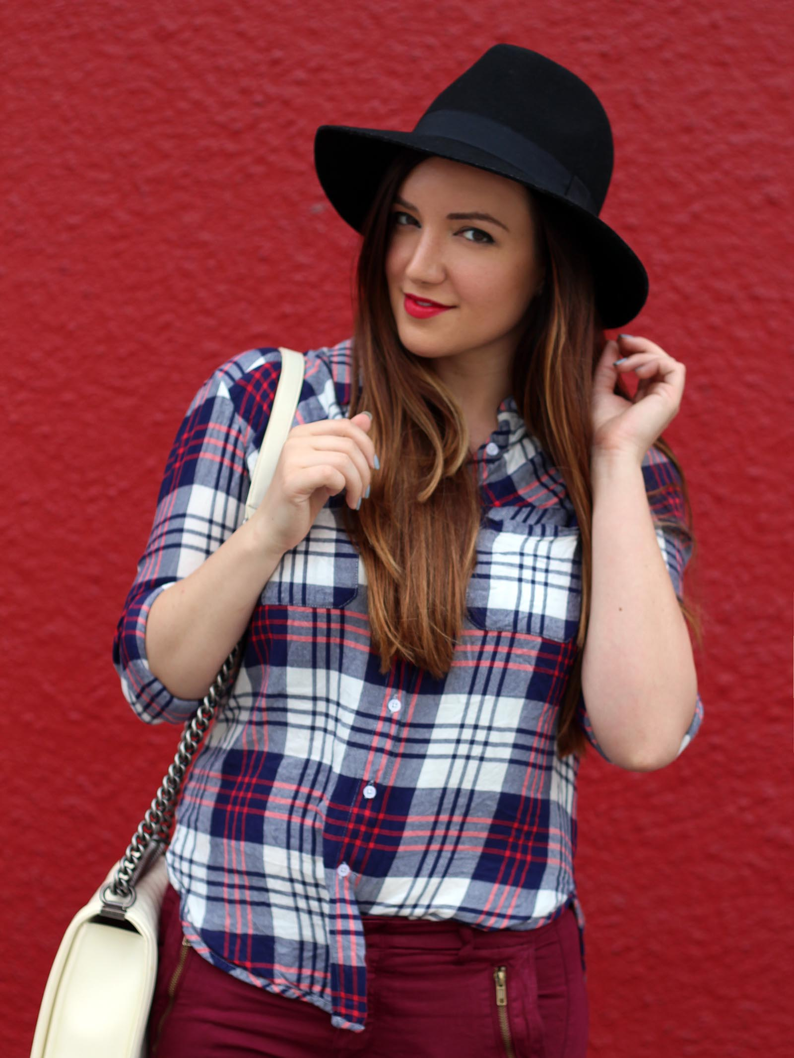 nordstrom plaid shirt