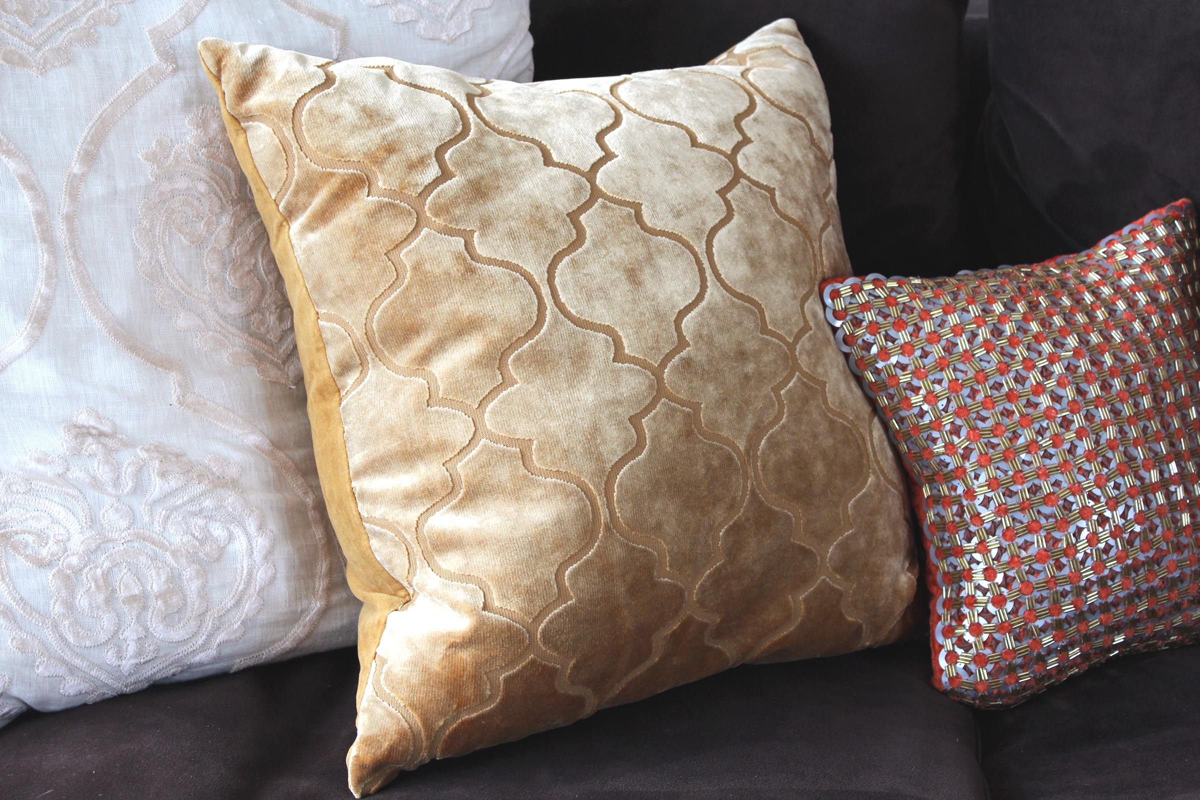 fall pillow decor