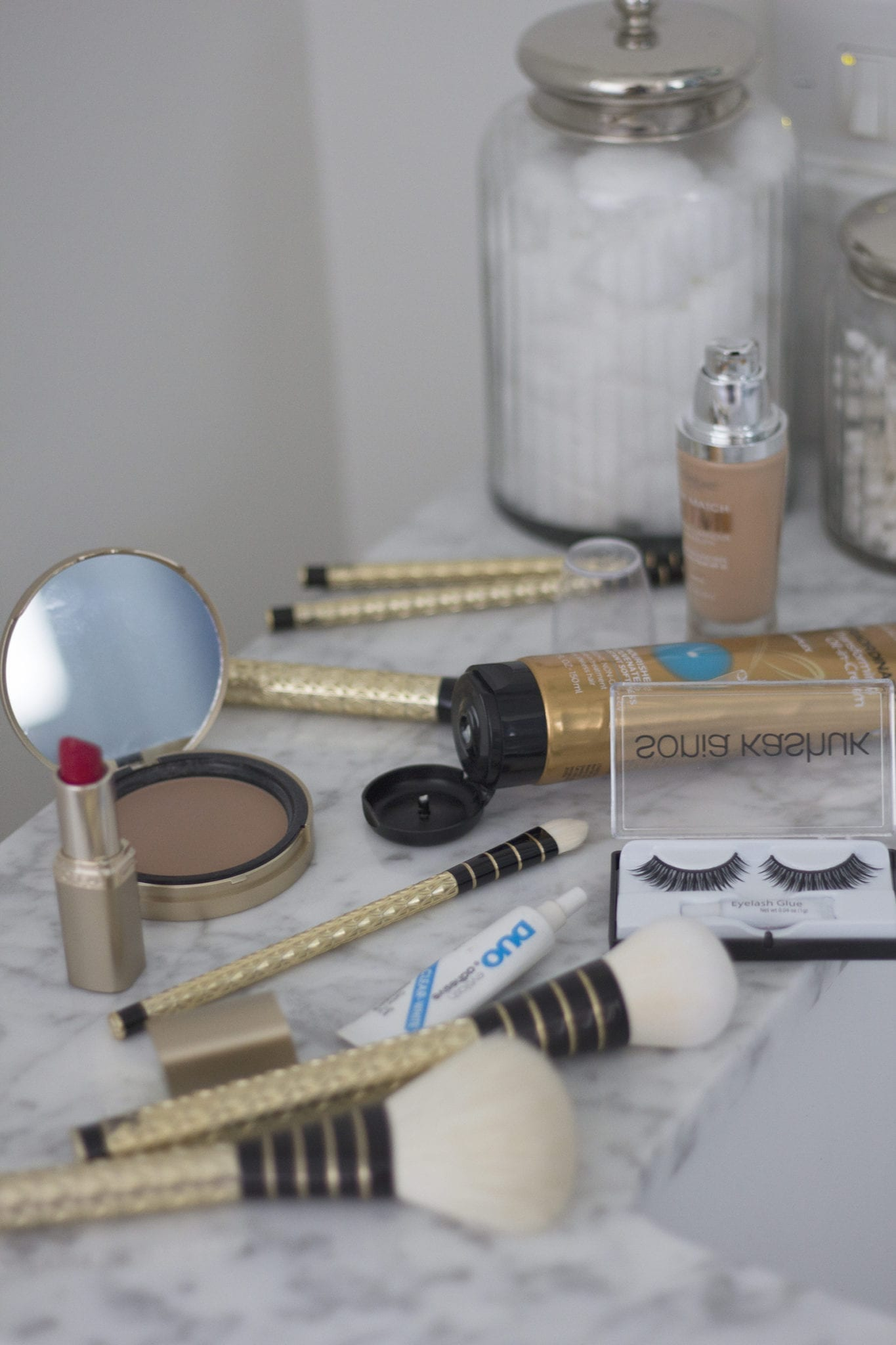 glam holiday party makeup | GLAM HOLIDAY PARTY MAKEUP featured by top San Francisco beauty blog, Just Add Glam