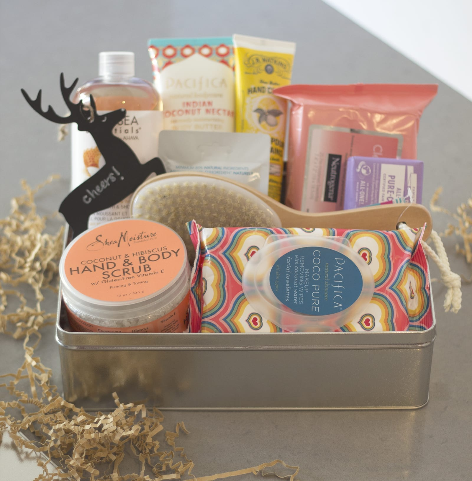 The Perfect DIY Customized Gift Box | Just Add Glam