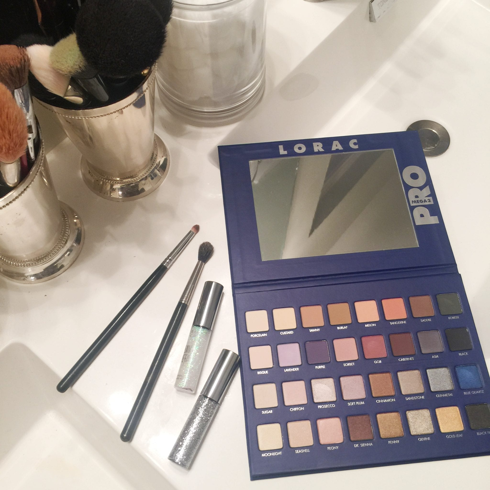THE BEST LAST MINUTE GIFT IDEAS featured by top San Francisco life and style blog, Just Add Glam: image of Lorac Palette and other Ulta Beauty makeup products