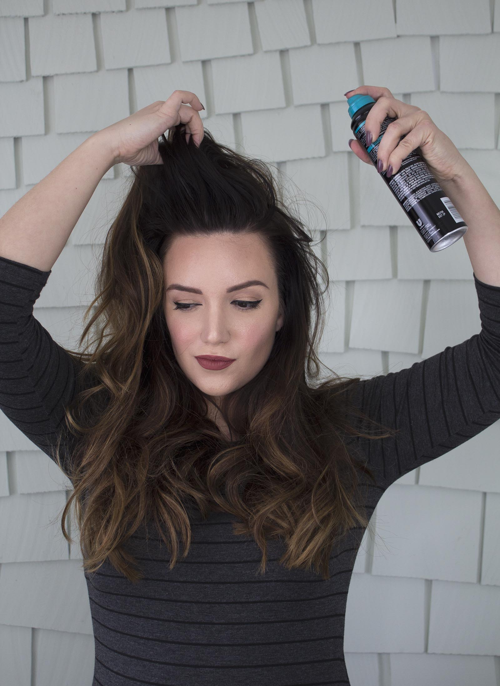 how to refresh a blowout featured by top San Francisco beauty blog, Just Add Glam