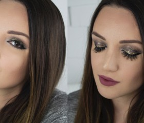 GET READY WITH ME: GLITTER SMOKEY EYE