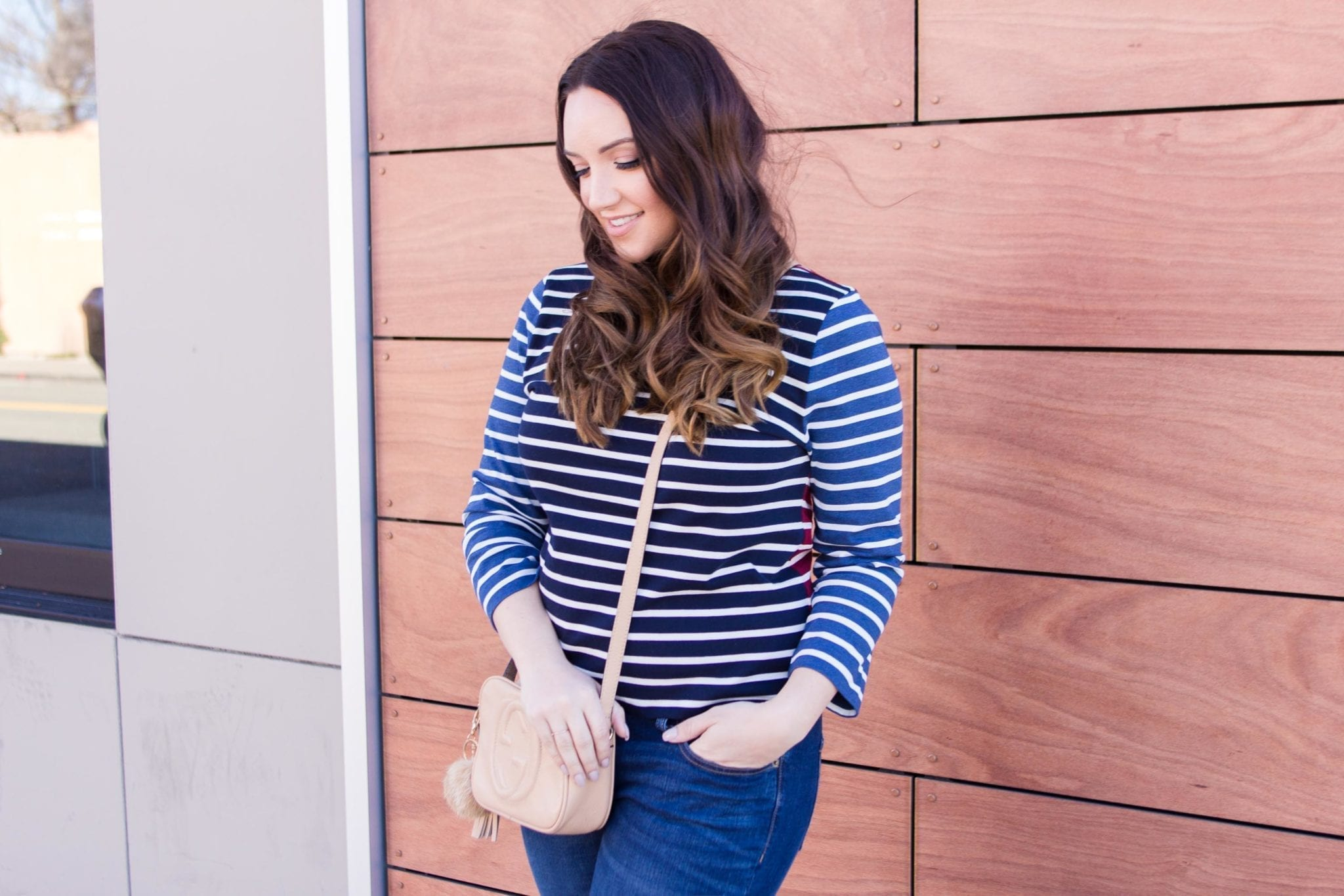 jcrew striped shirt