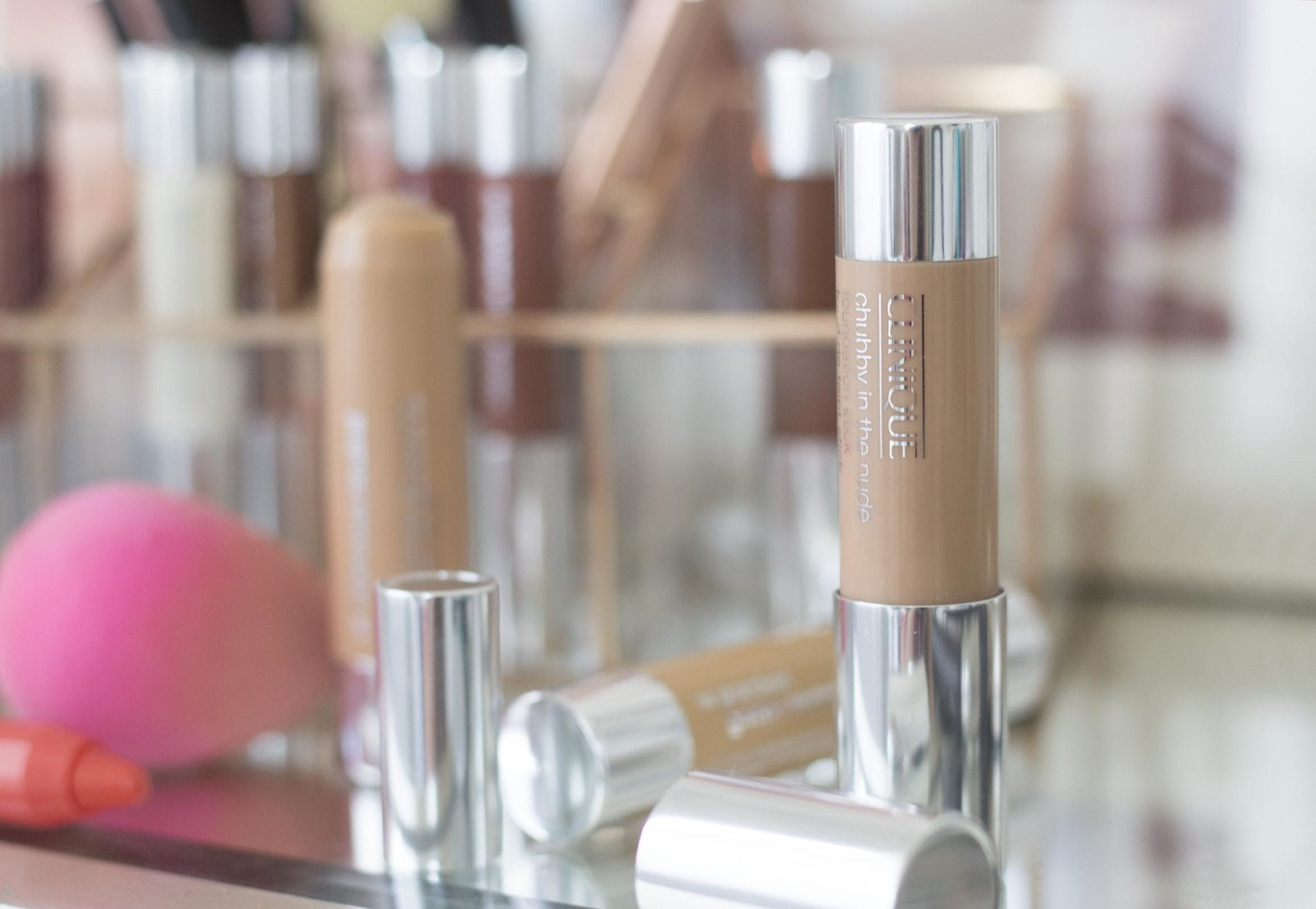 clinique chubby sticks | Clinique foundation sticks featured by popular San Francisco beauty blogger, Just Add Glam