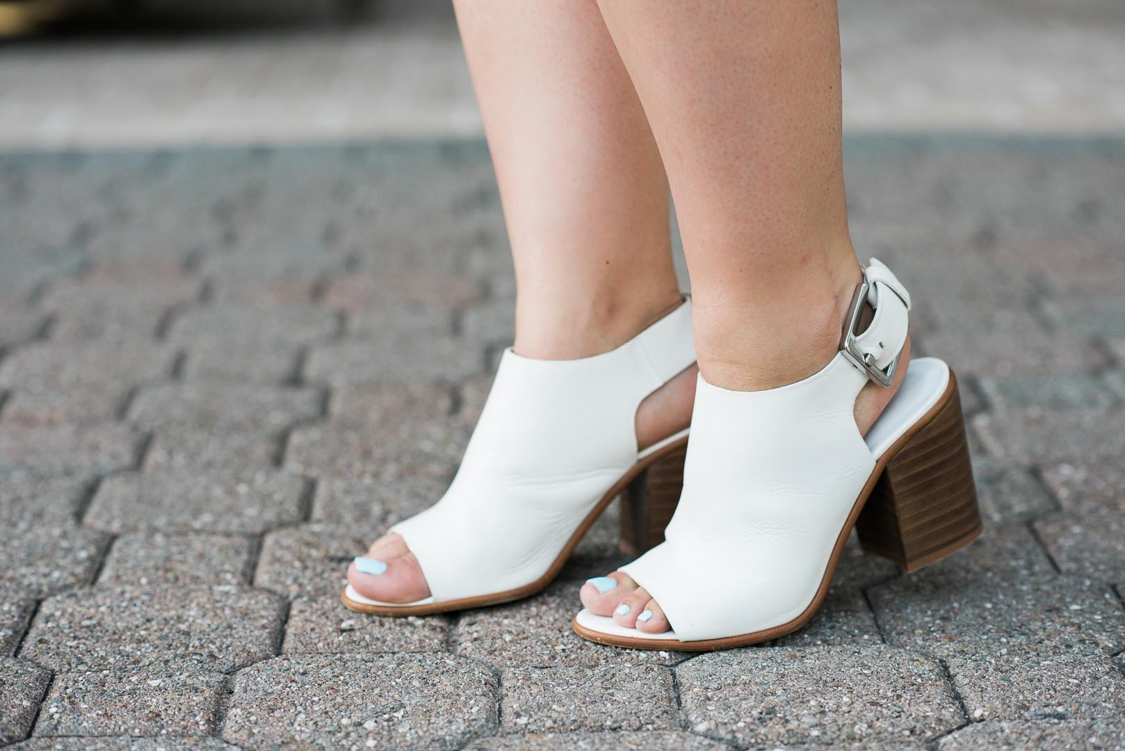 zara peep toe booties