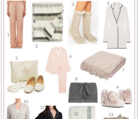 GIFT GUIDE: COZY PAJAMAS