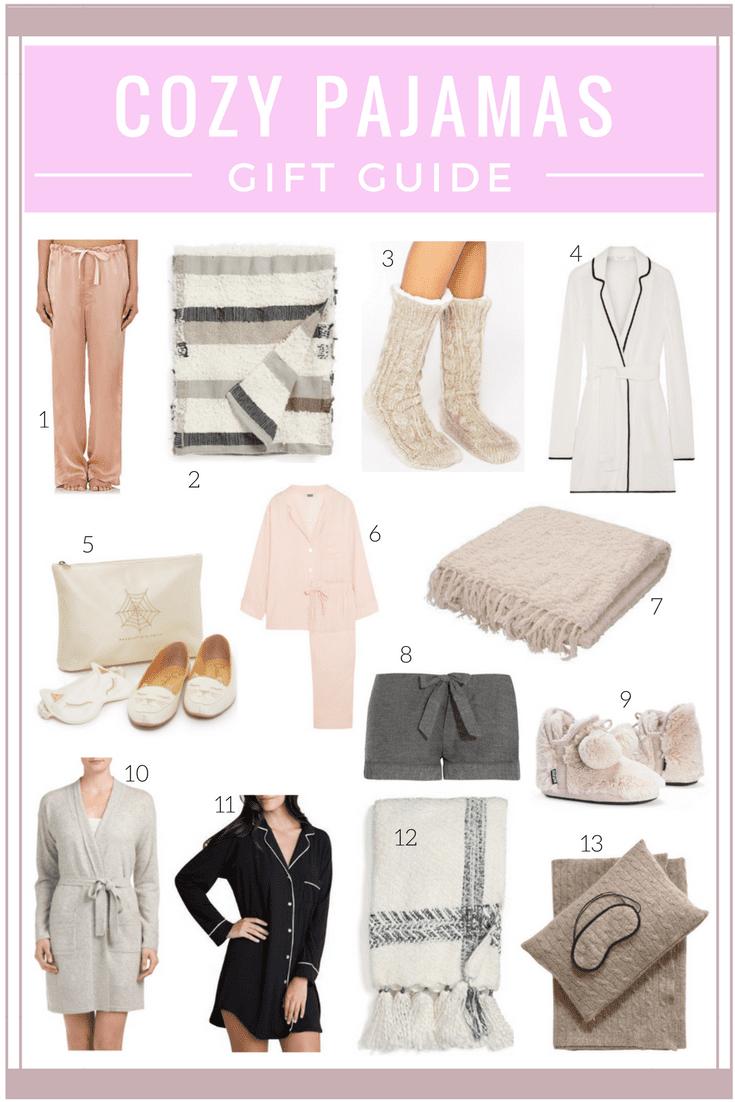 Gift guide cozy pajamas