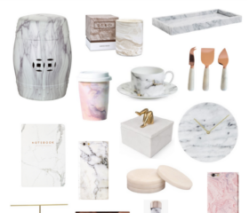 GIFT GUIDE: THE MARBLE LOVER