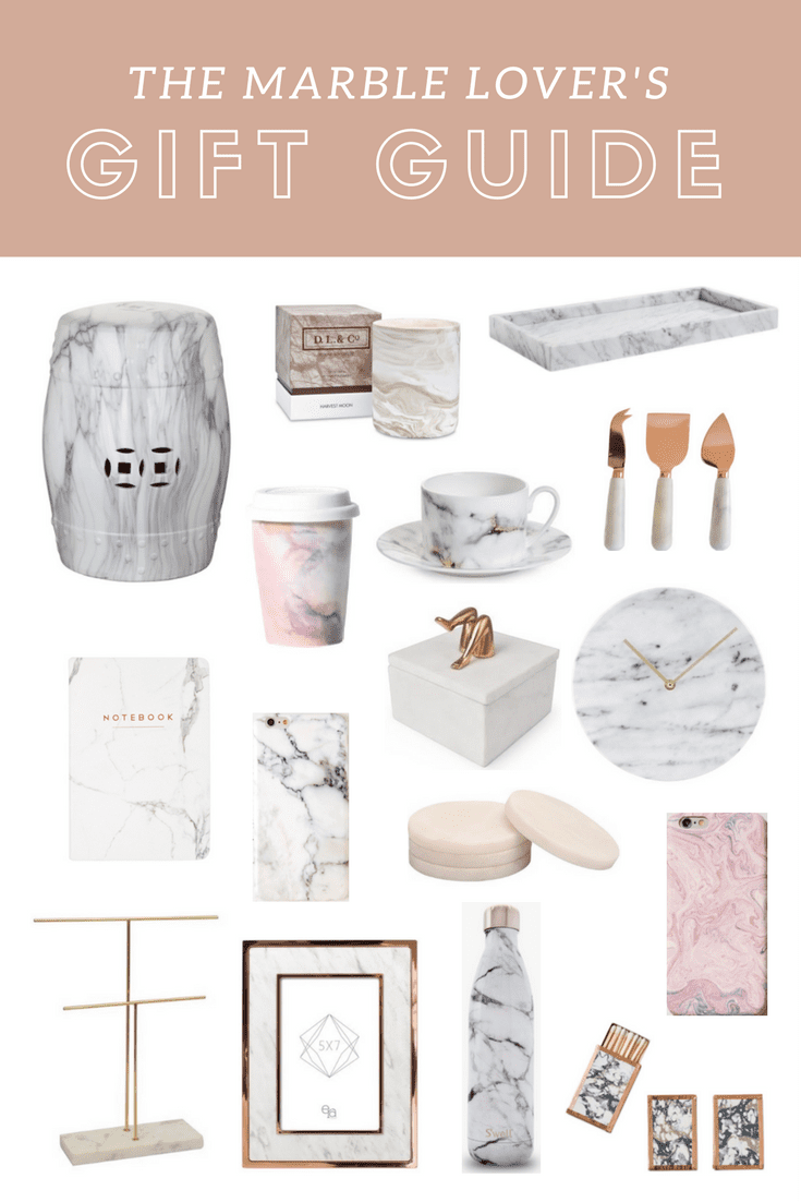 The Marble Lover's Gift Guide | The Best Marble Gifts for the Marble Lover featured by popular San Francisco lifestyle blogger, Just Add Glam