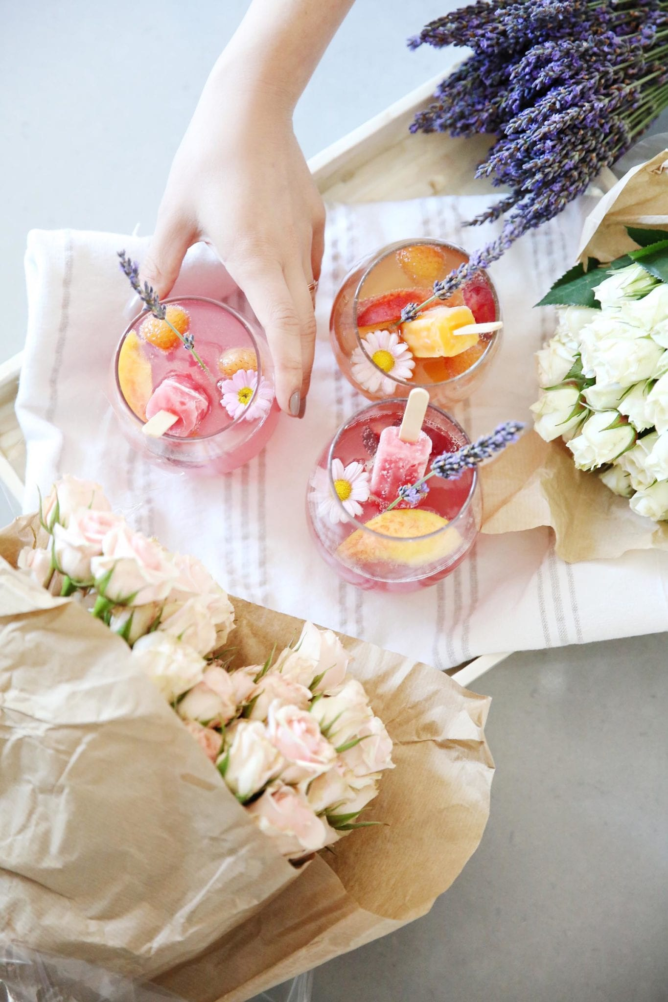 SWEET SUMMERTIME POPSICLE SPRITZ