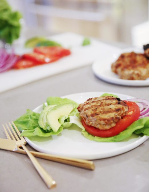 turkey smash burgers recipe featured by popular San Francisco lifestyle blogger, Just Add Glam