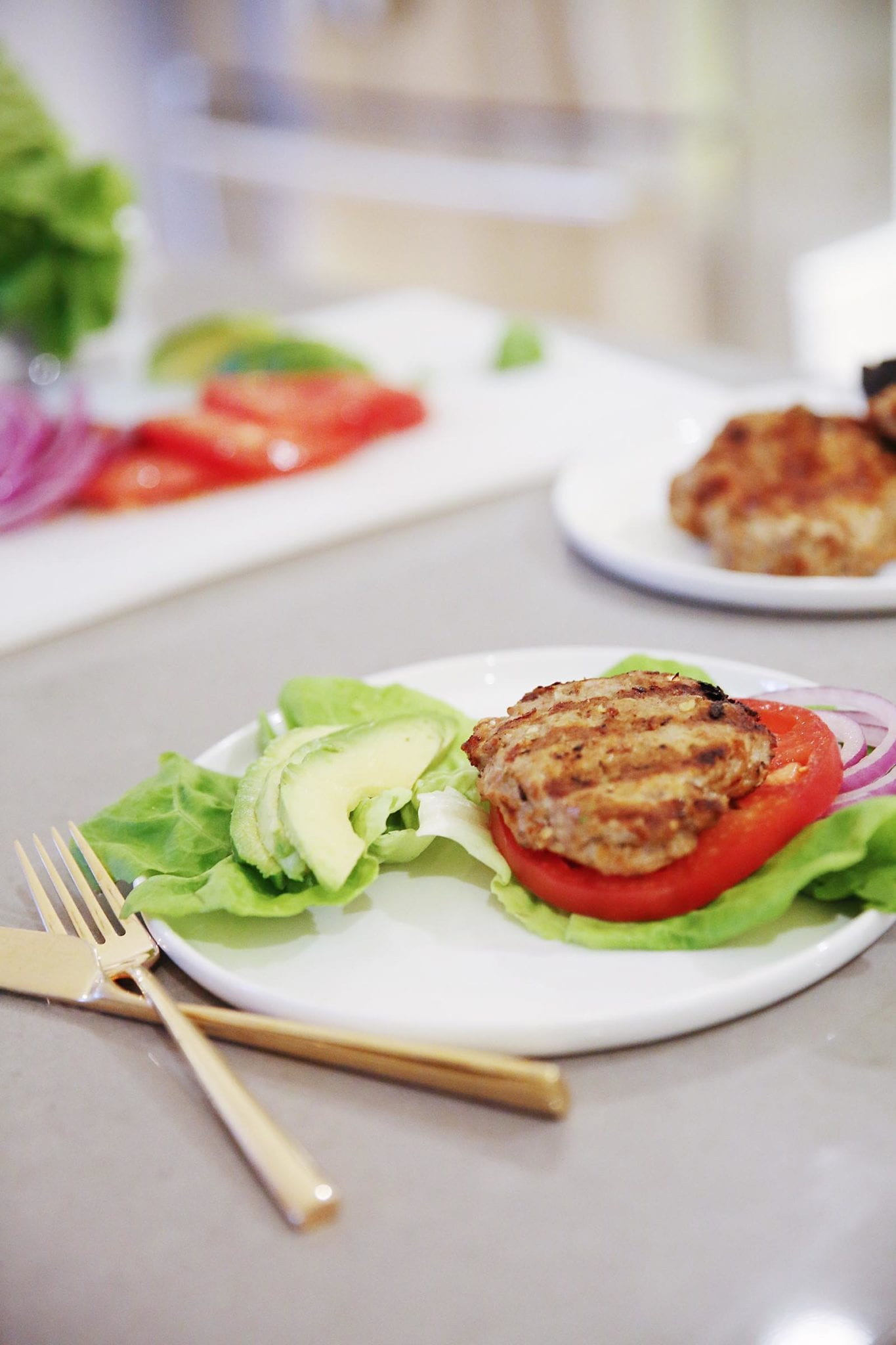 turkey smash burgers