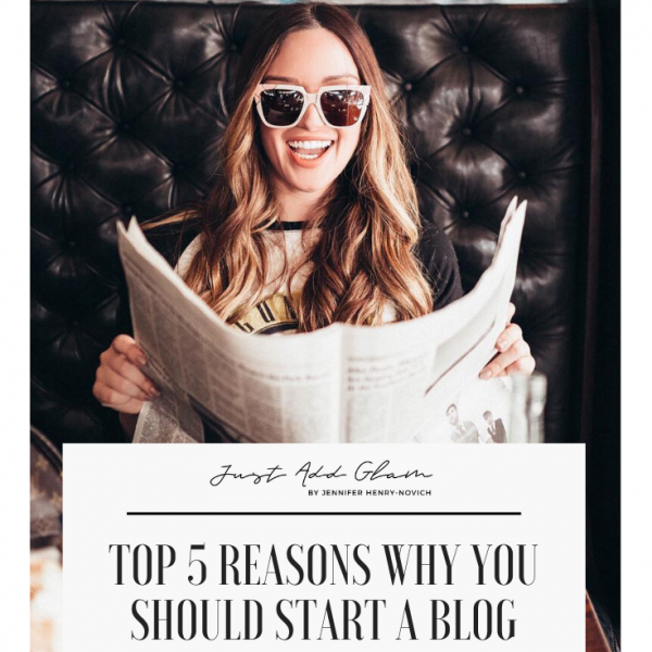 The Ultimate Step By Step Guide For Starting Your Blog: Top 5 Reasons Why You Should Start a Blog
