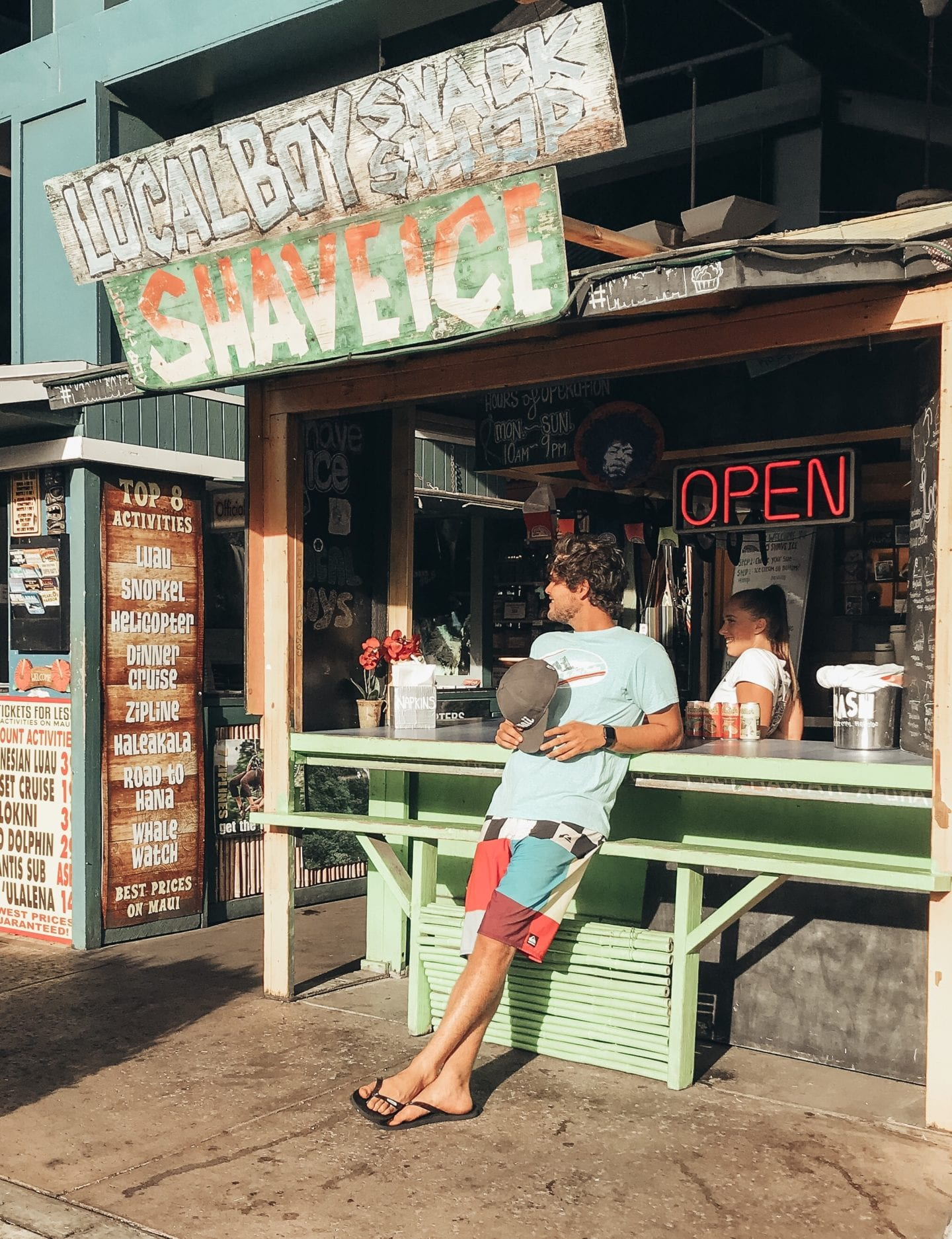 Downtown Lahaina I Maui travel guide I Hawaii Travel Guide I via justaddglam.com   Top Things to Do in Maui featured by top San Francisco travel blog, Just Add Glam: Lahaina