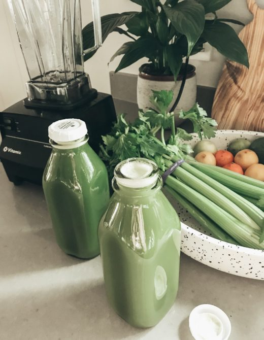 Top 3 Celery Juice Benefits on the Keto Diet featured by top US lifestyle blog, Just Add Glam