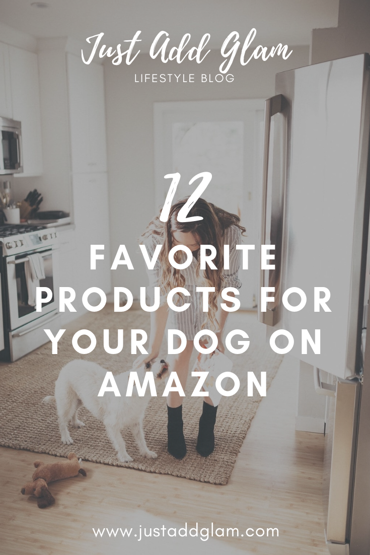 Amazon Dog Products featured by top US lifestyle blog Just Add Glam