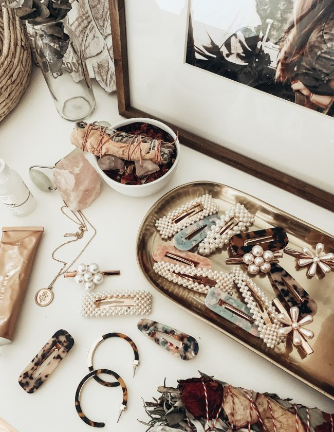 pearl hair clips amazon