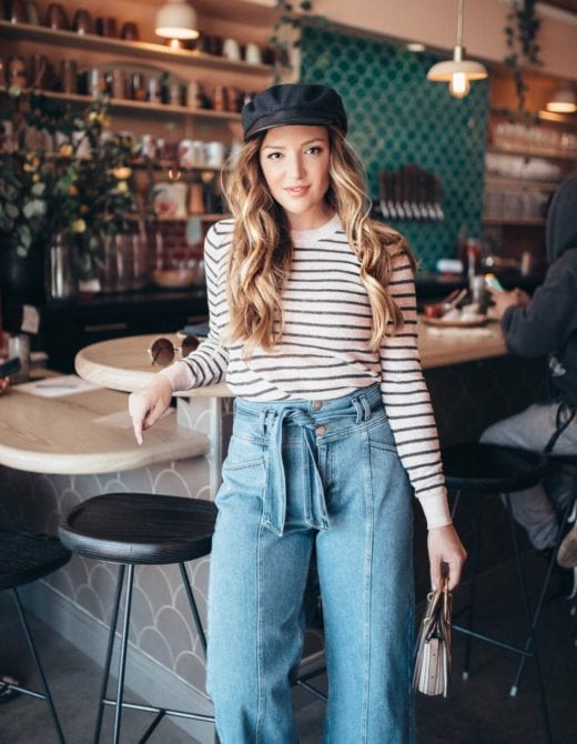 How to wear fall denim, styling tips featured by top US fashion blog, Just Add Glam