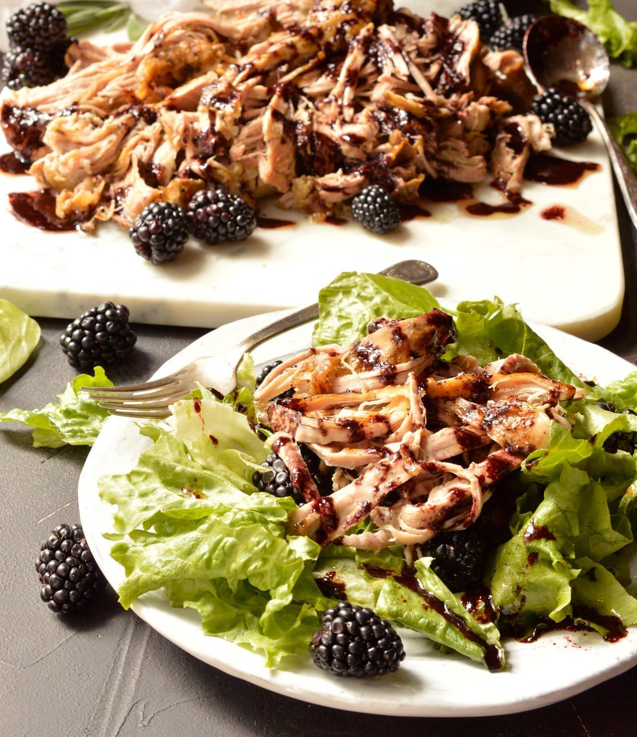 HEALTHY KETO CROCKPOT RECIPES TO EASE YOU INTO THE NEW YEAR by popular San Francisco life and style blog, Just Add Glam: image of slow cooker pork tenderloin.