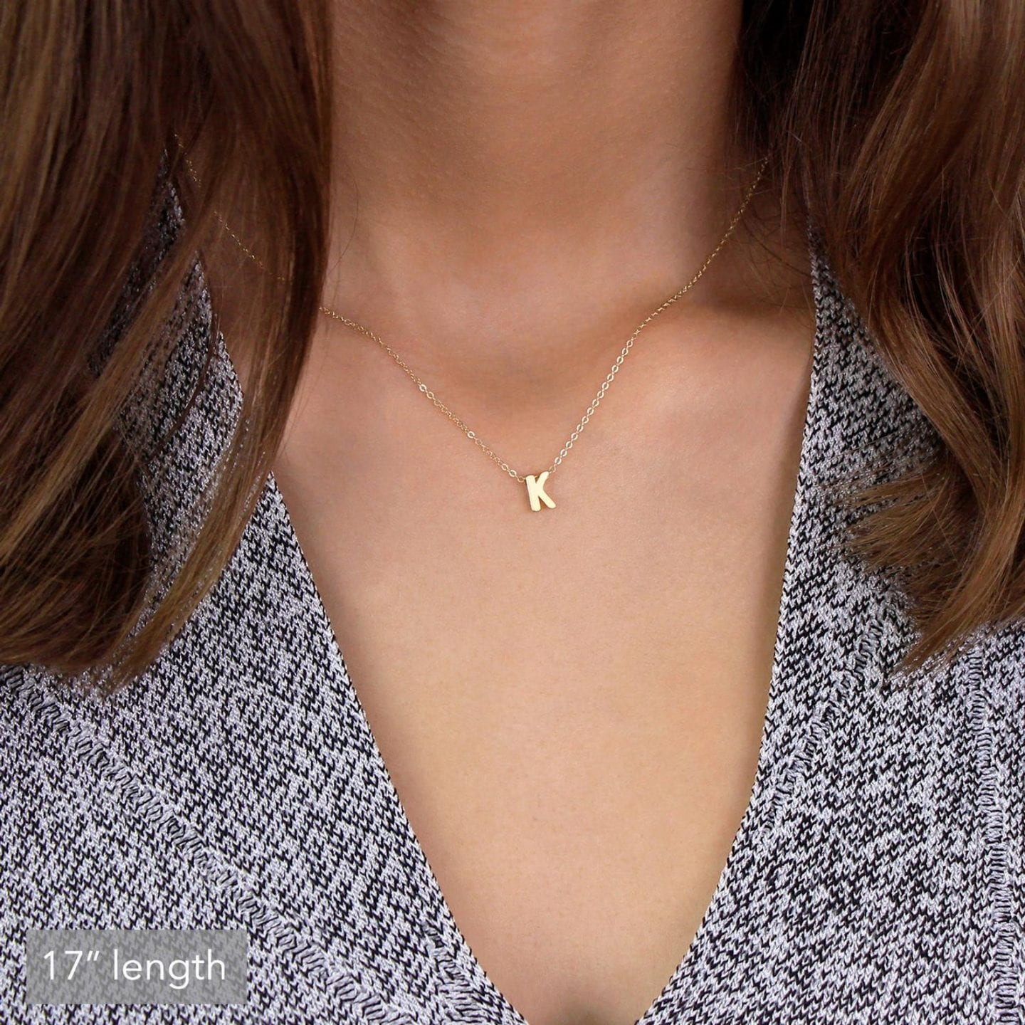 Initial Jewelry by popular San Francisco fashion blog, Just Add Glam: image of a IRO initial necklace.