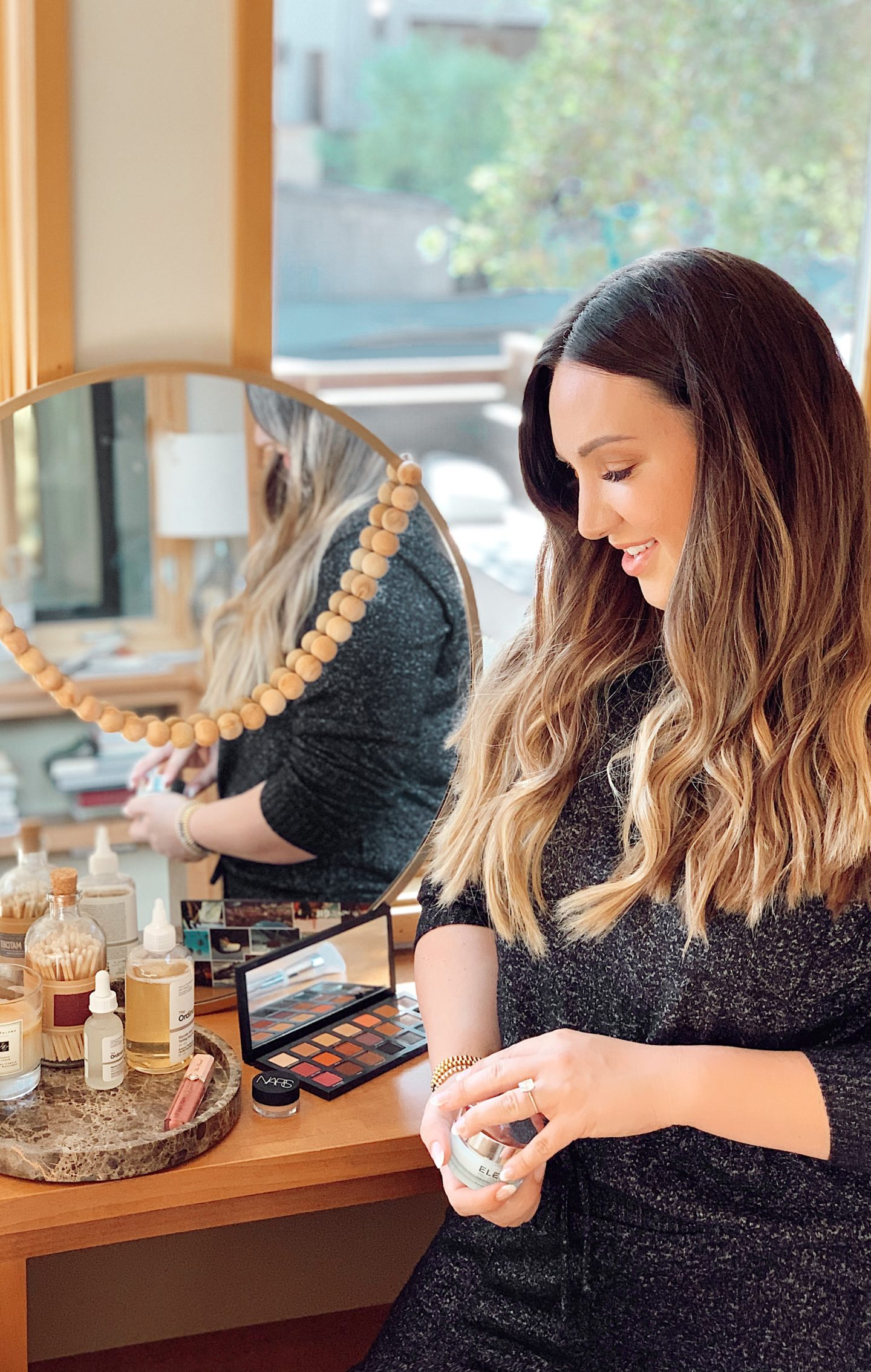 walmart fall beauty favorites |Fall Beauty by popular San Francisco beauty blog, Just Add Glam: image of Urban Decay makeup pallet, Nars makeup, and Too Faced lip injection lip gloss.