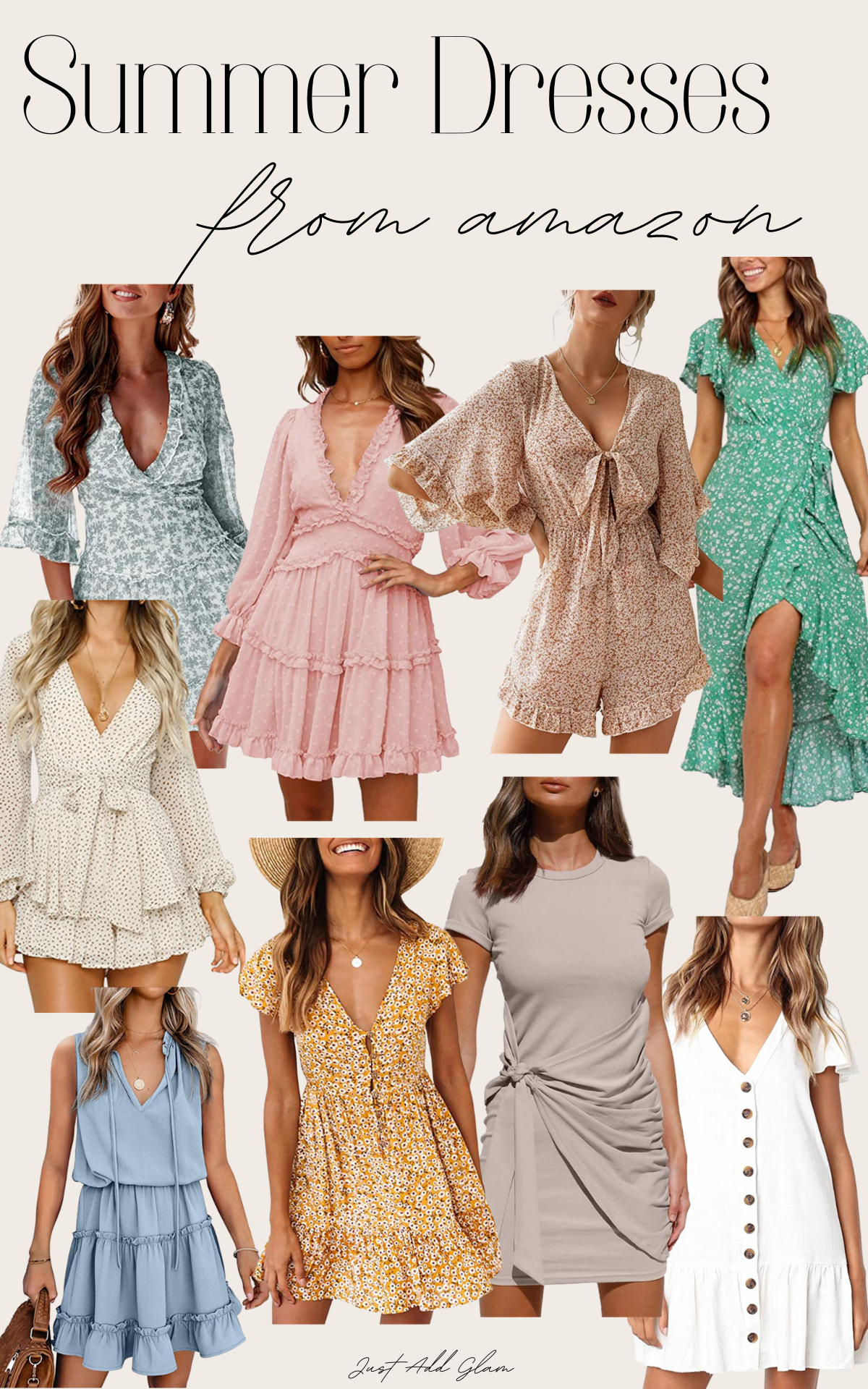 Summer dresses from Amazon